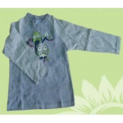 Camiseta manga larga bebé y recién nacido niño buhos de la marca Newness