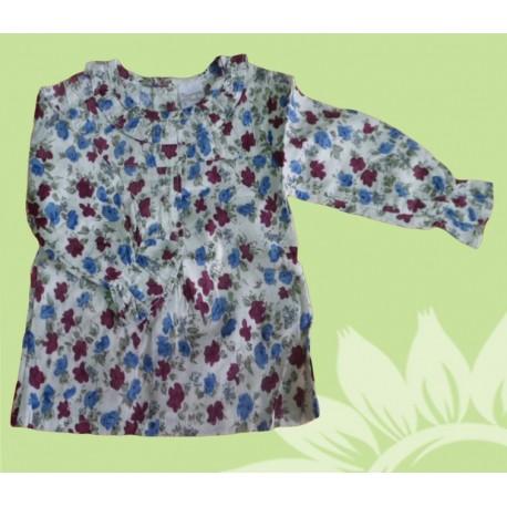 Camisas de manga larga para bebés y recién nacidas niñas flores, de la marca Newness