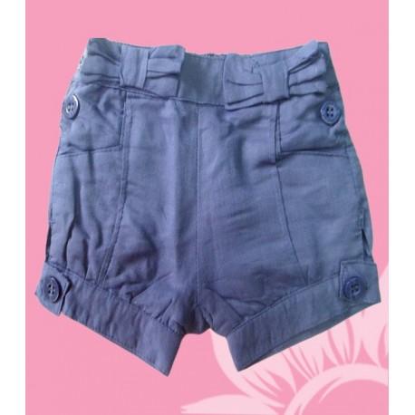 Pantalones cortos bebés y recién nacidos niñas azul