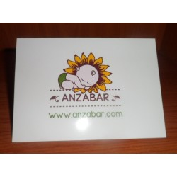 Tarjeta con mensaje Anzabar