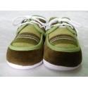 Zapato primera puesta verde