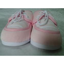 Zapato primera puesta rosa claro
