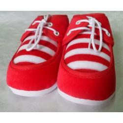 Zapato primera puesta rojo