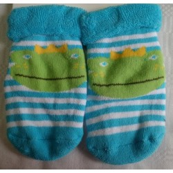 Calcetines bebé cara rana