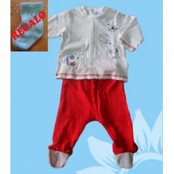 Conjunto recién nacido niño pompa de jabón