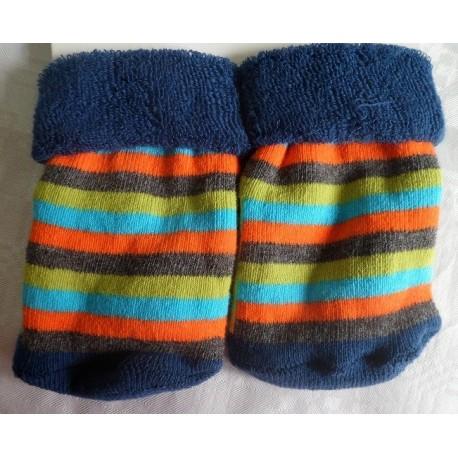 Calcetines bebé antideslizante azul marino