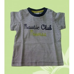 Camiseta bebé niño nautic club