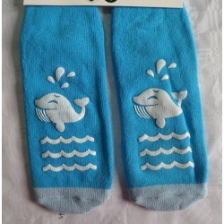 Calcetines antideslizante ballena