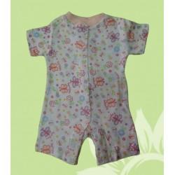 Pijama bebé niña mariposas