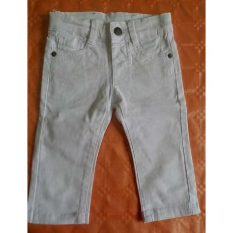 Pantalones denim blancos bebés niños