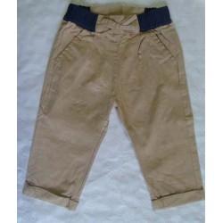Pantalones loneta bebés y recién nacidos  niñas beige