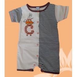 Pijama bebé y recién nacido niño coche manga corta verano