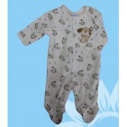 Pijama bebé niño perrito