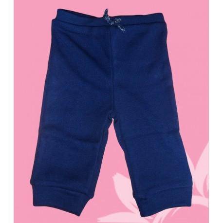 Pantalón chandal bebé y recién nacido niña azul marino
