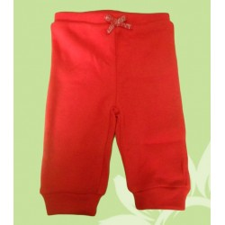 Pantalón chandal bebé y recién nacido niña rojo