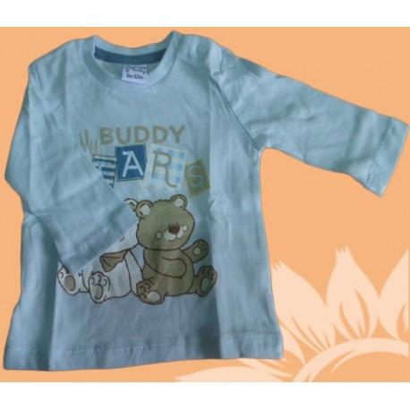 Camiseta manga larga bebé y recién nacido niño my buddy bears, de la marca Newness