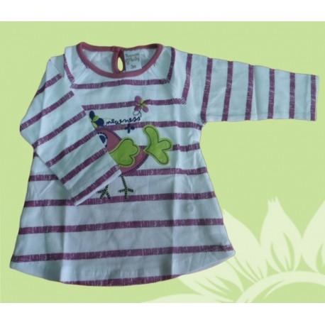 Camiseta manga larga bebé y recién nacido niña newness