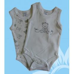 Pack 2 bodys bebé niño ositos