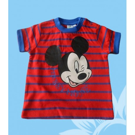 Camisetas bebés niños manga corta Mickey