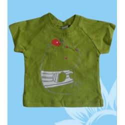 Camiseta bebé niño hipopótamo
