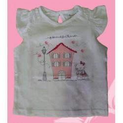 Camiseta bebé niña casa