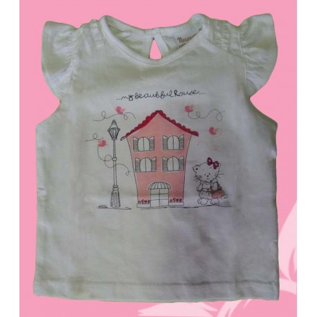 Camisetas bebés y recién nacidas niñas casa, de la marca Newness