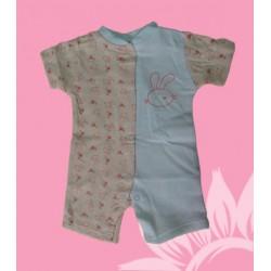 Pijama bebé niña conejitos
