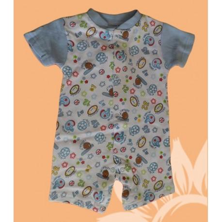 Pijamas bebés y recién nacidos niños deporte manga corta verano