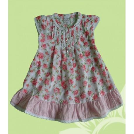Vestidos bebés y recién nacidos niñas flores verano
