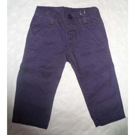 Pantalones loneta bebés y recién nacidos niños azul marino