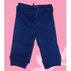 Pantalón chandal bebé niña azul marino